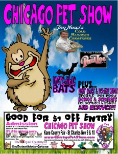 Chicago Pet Show Flyer